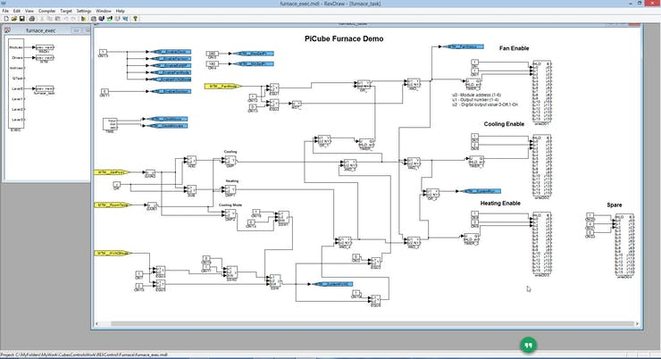 REX Control Furnace Application