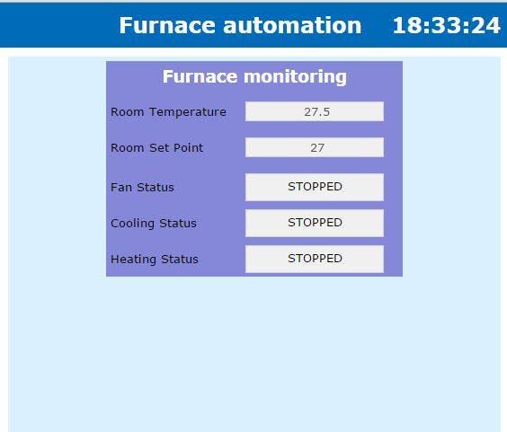 Furnace Web Page