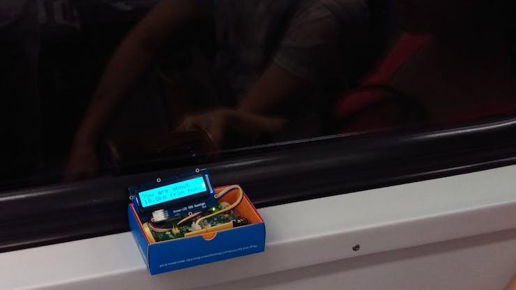 Dorothy – On the train