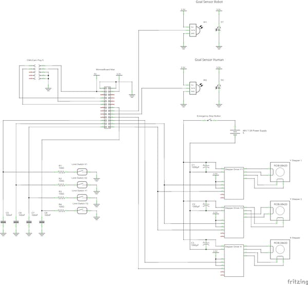 Full schematic of wiring