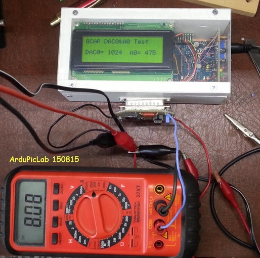 Arduino Due Dac max current