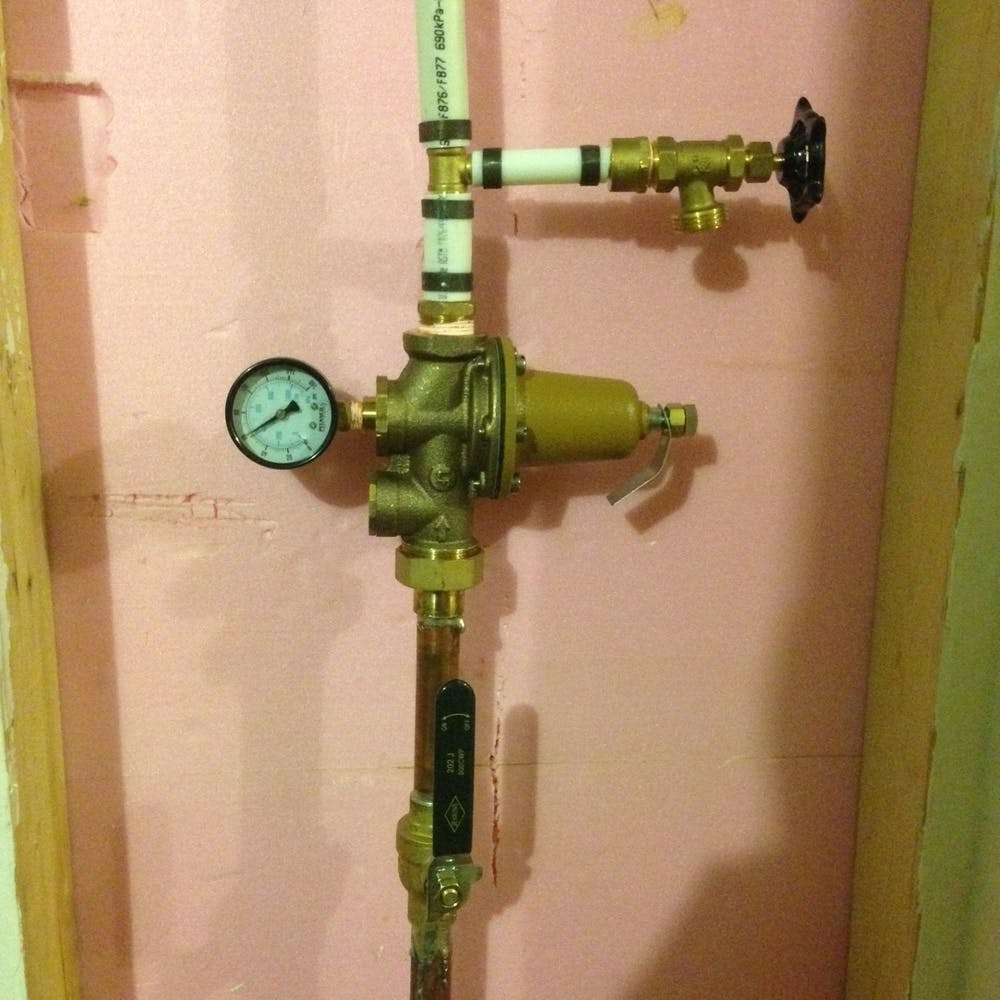 """This is main water valve in my basement ( size: 3/4"""")"""