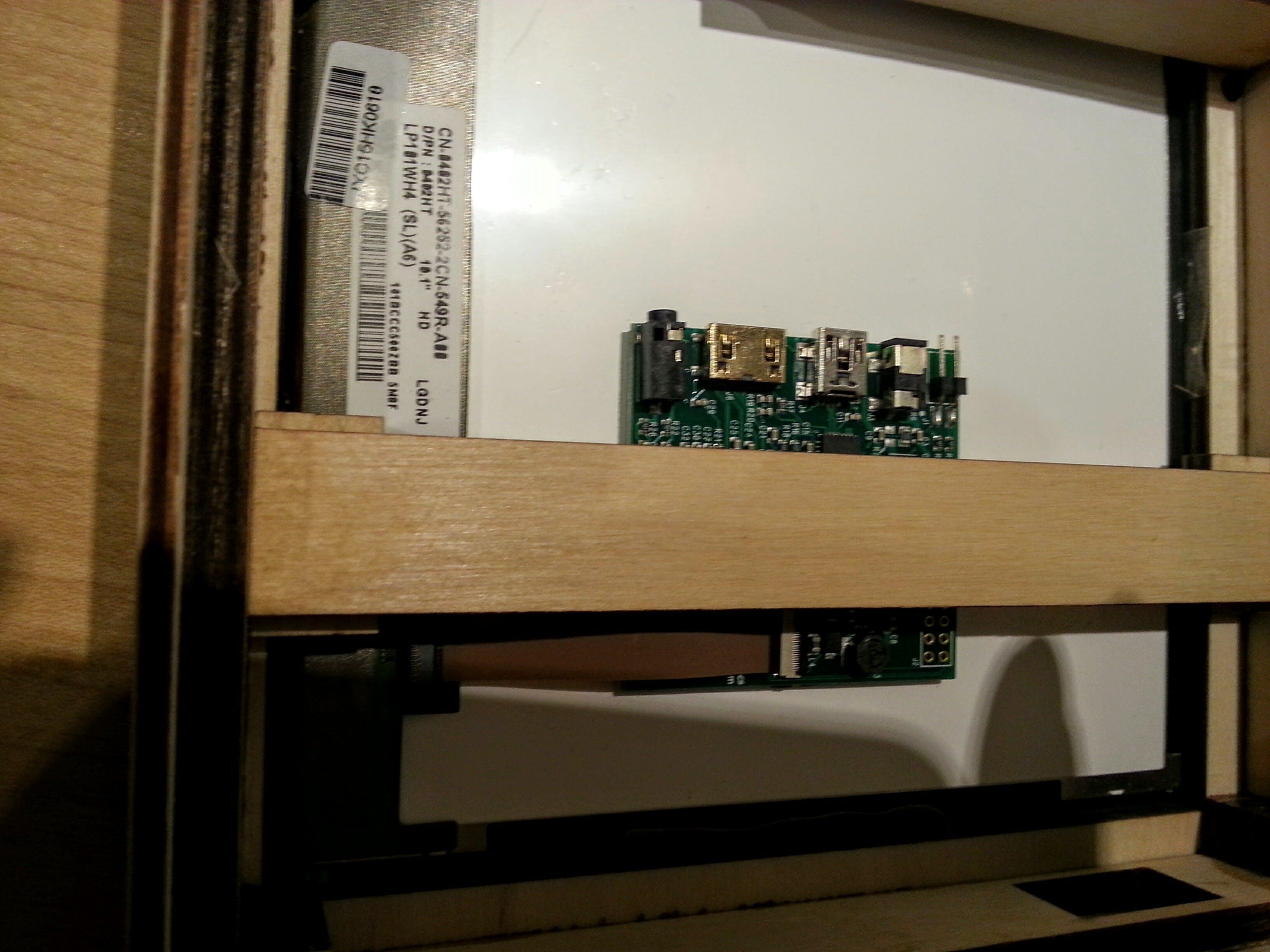 The LG type number plus HDMI/LVDS encoder
