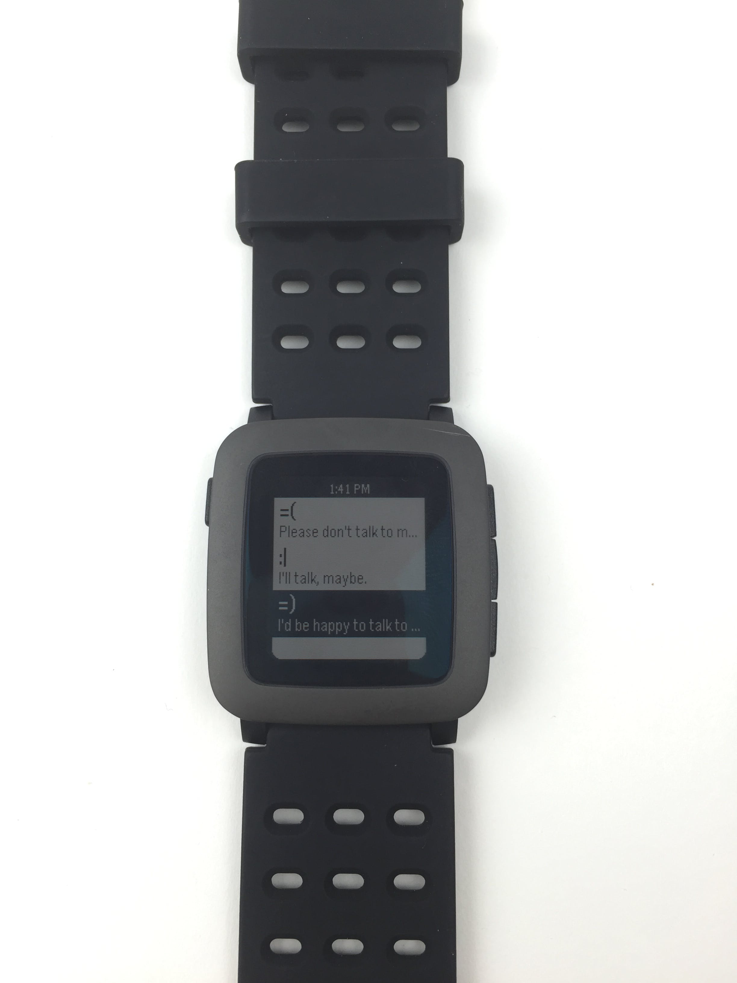 Talk 2 Me...Maybe Pebble app