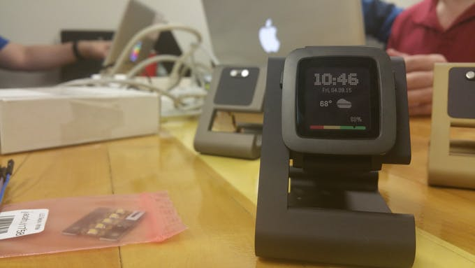 TimeDock for Pebble Time - Modified for serial data pass through