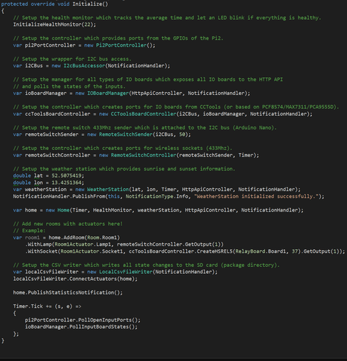 Empty controller initialization