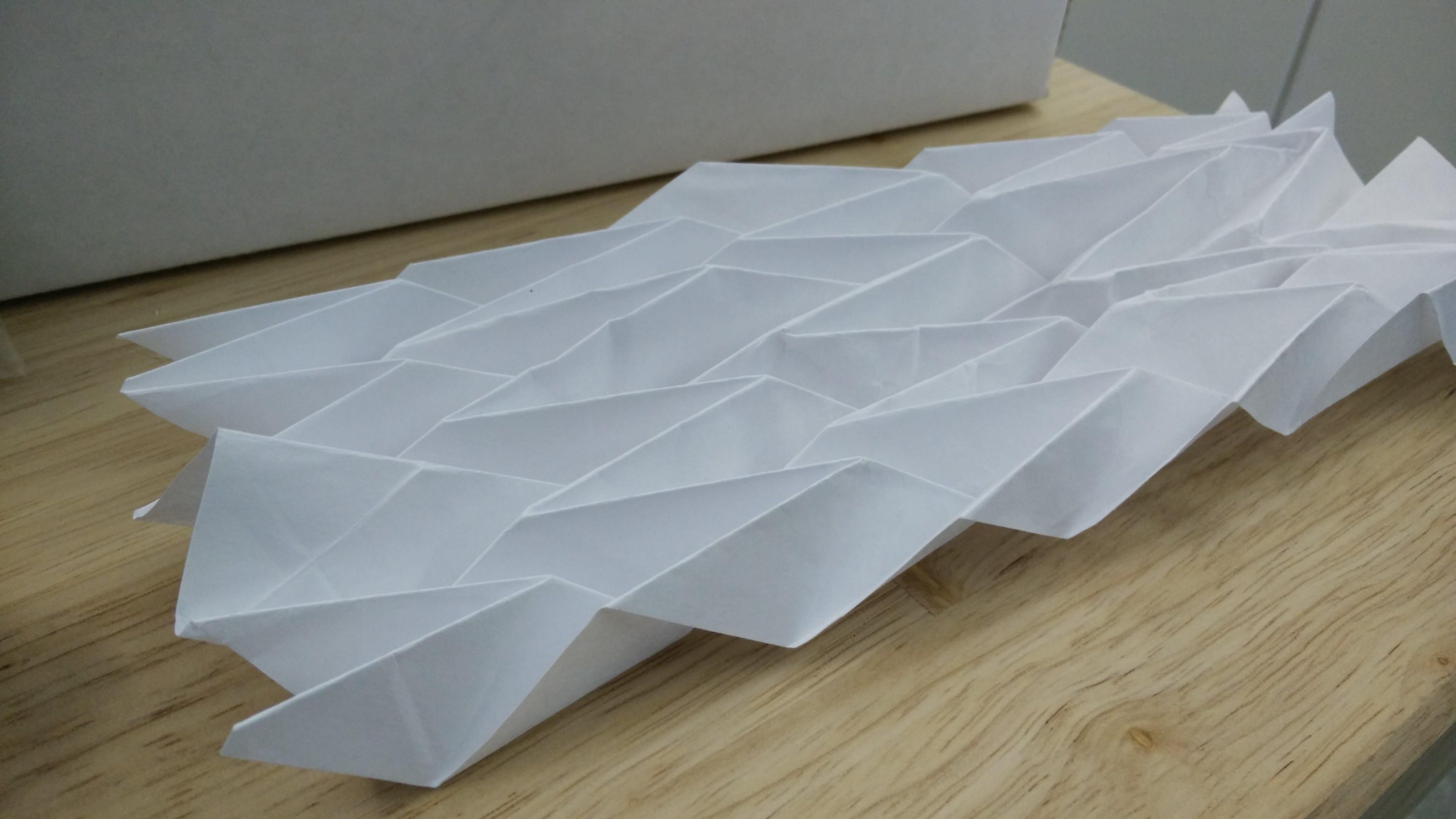 Miura-Ori Origami Tessellation