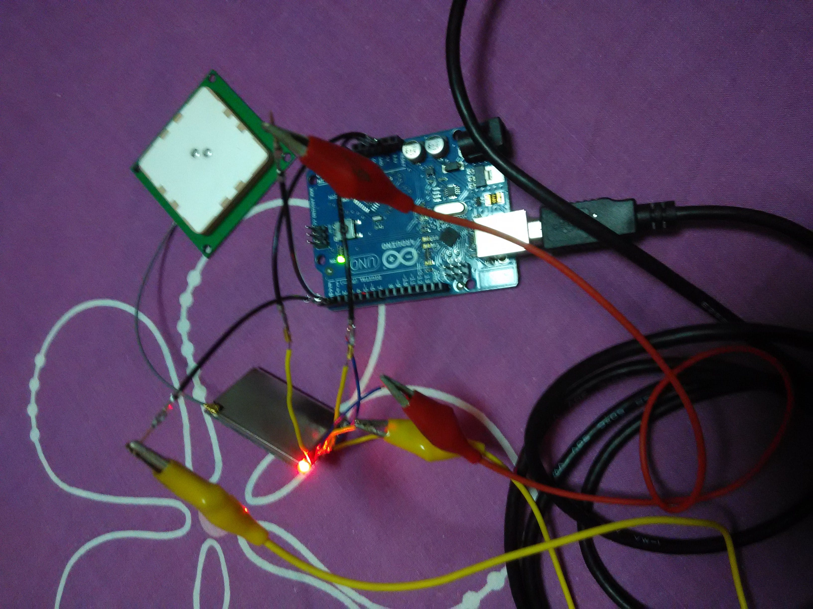 UHF RFID module connect with Arduino UNO