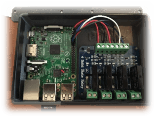 pool controller hackster io pool controller relays mounted in custom enclosure