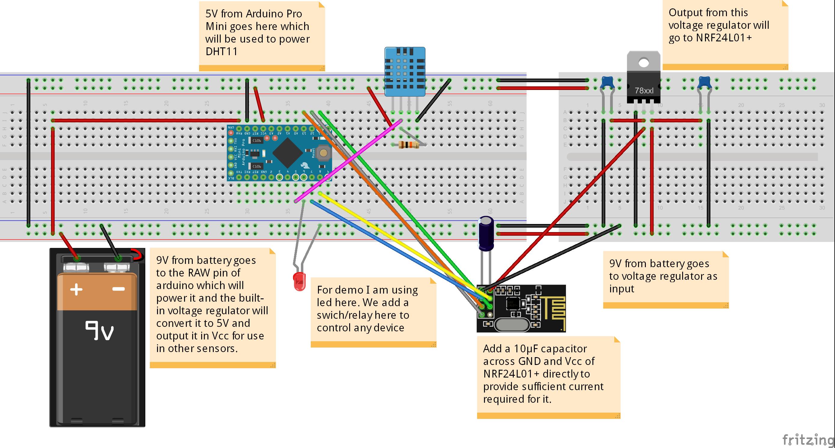 Raspberry Pi Nrf24l01 Wiring Diagram