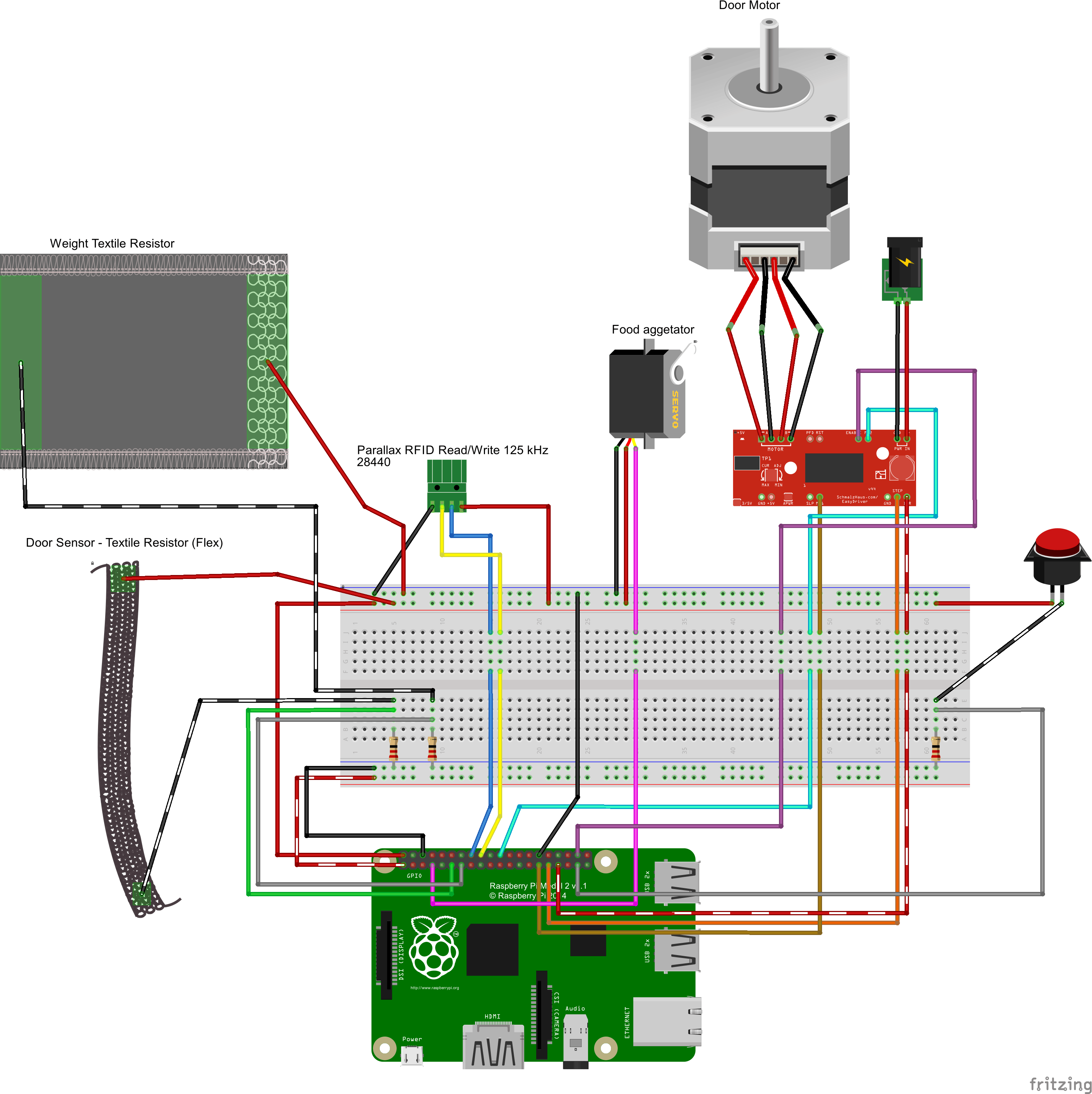 simple machine feeder
