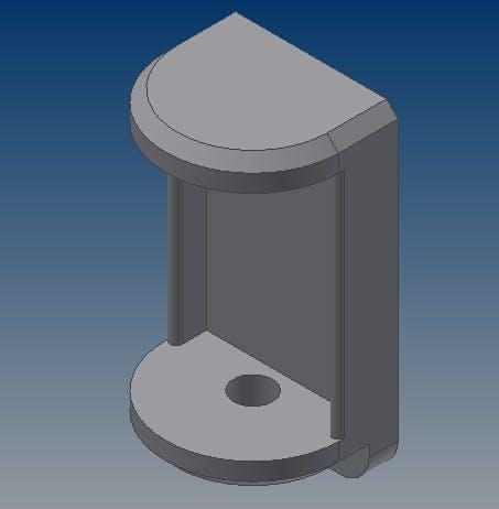 Air temperature sensor mount