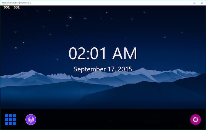New Design: Home Screen