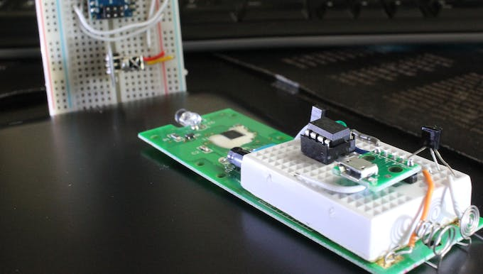 Testing with IR receiver