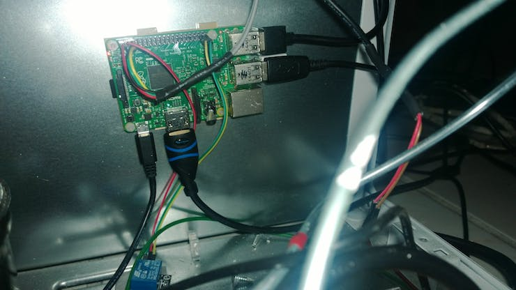 The Brains of the Operation - Raspberry Pi 2 Running WIndows 10 IoT Core
