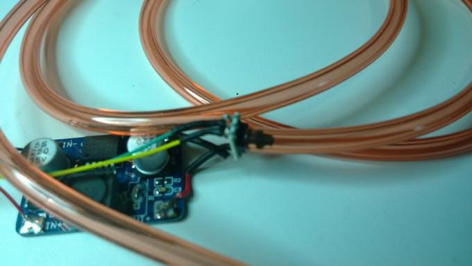 The Pressure Sensor and it's +5VDC to +3.3VDC Voltage Regulator
