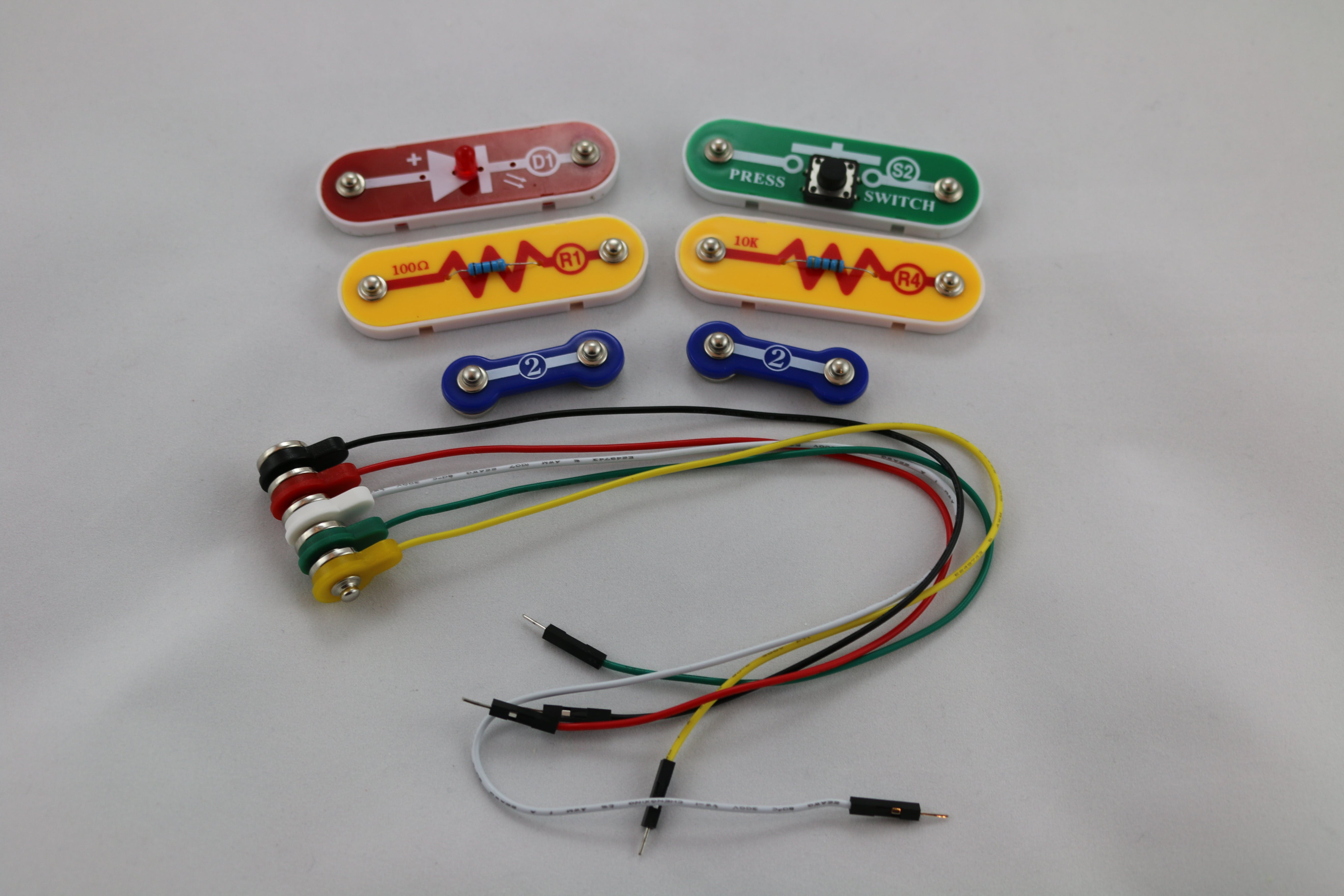 All Snap Circuit parts