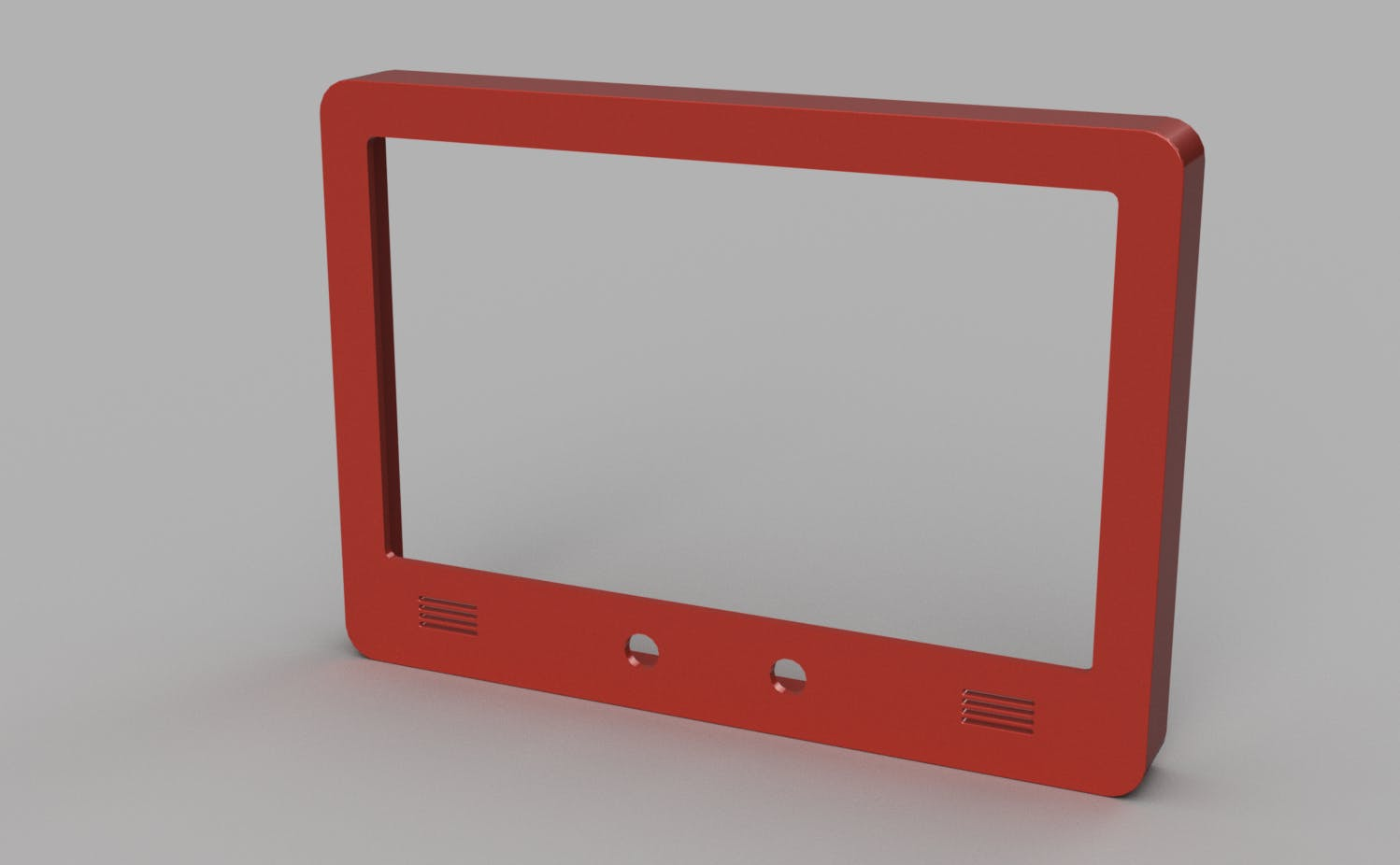 First study of a display enclosure IP65 classified