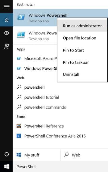 Windows IoT Core: Running a PowerShell Script on Startup