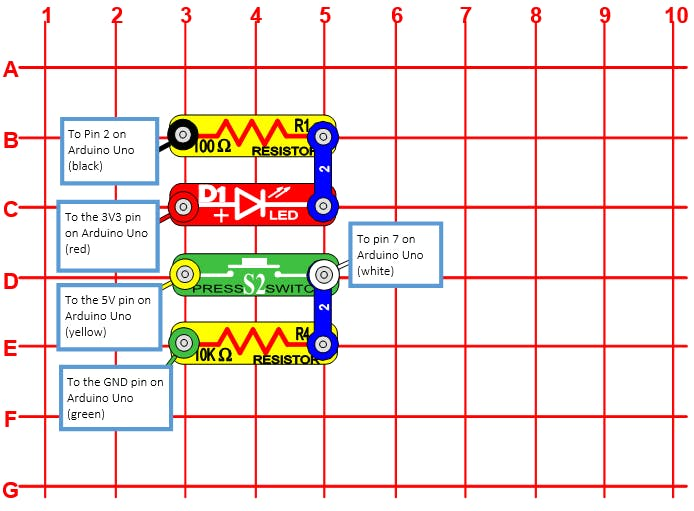 Snap Circuit Diagram (see PDF for full details)