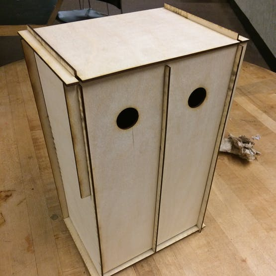 Form finding with plywood