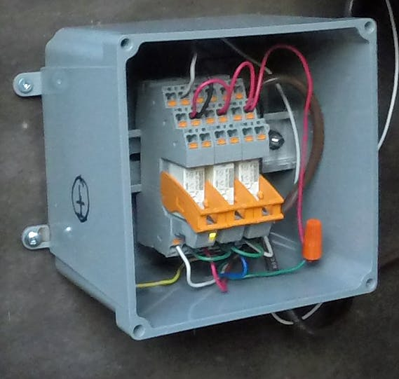 Tank Farm Well And Rain Water Irrigation Controller