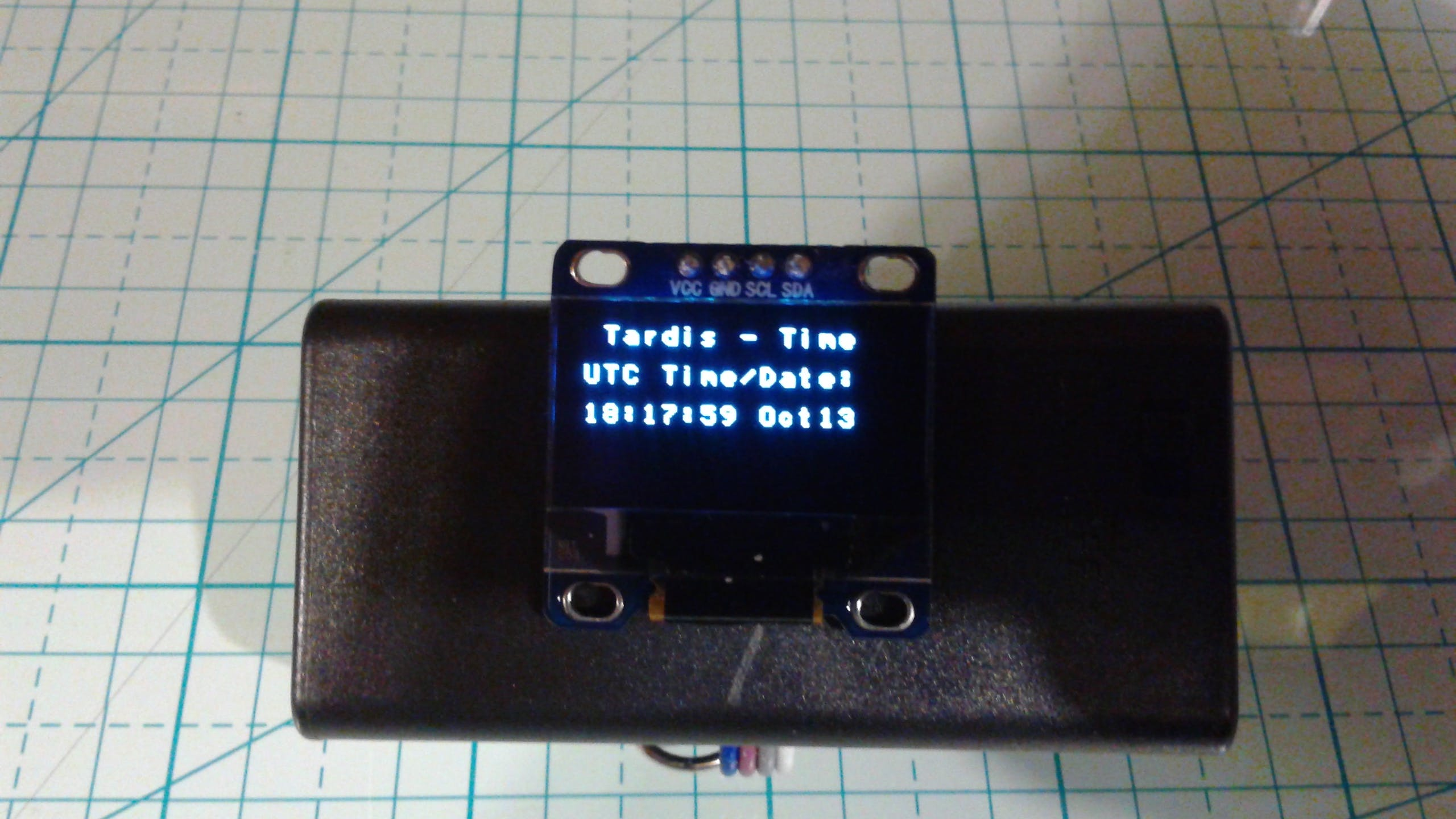 Finished self-contained Receiver