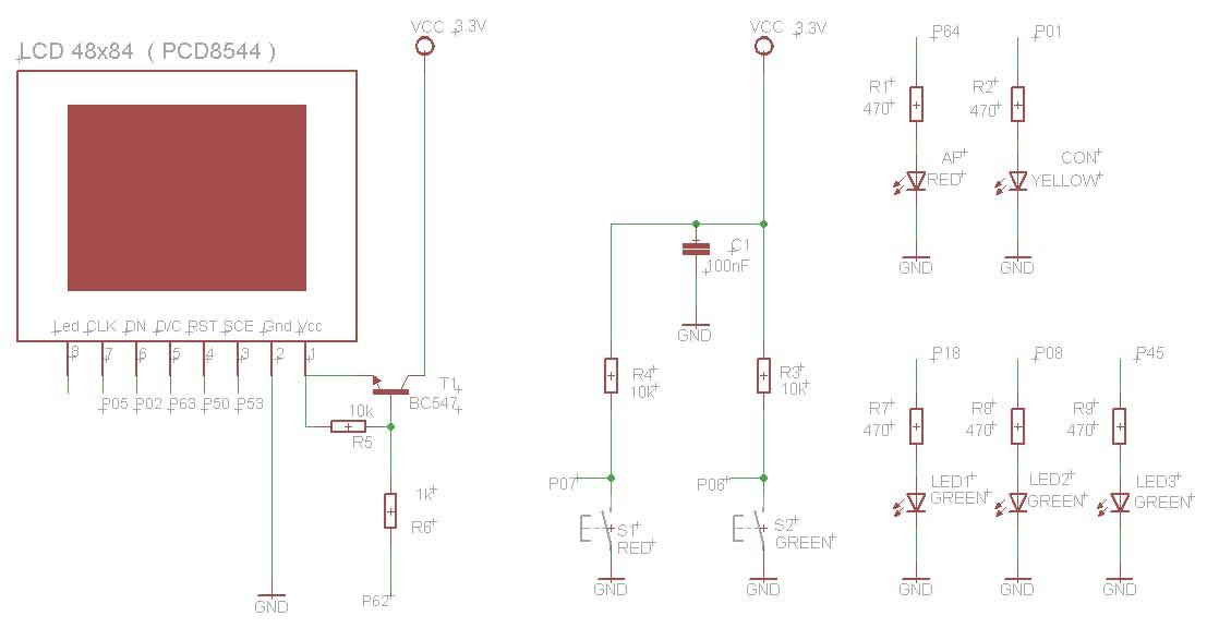 Figure 1. Schematic. Peripherals devices