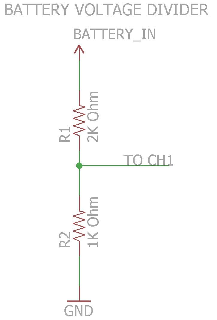 Battery Voltage Divider