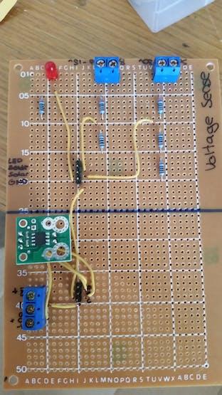 Assembled Voltage Board