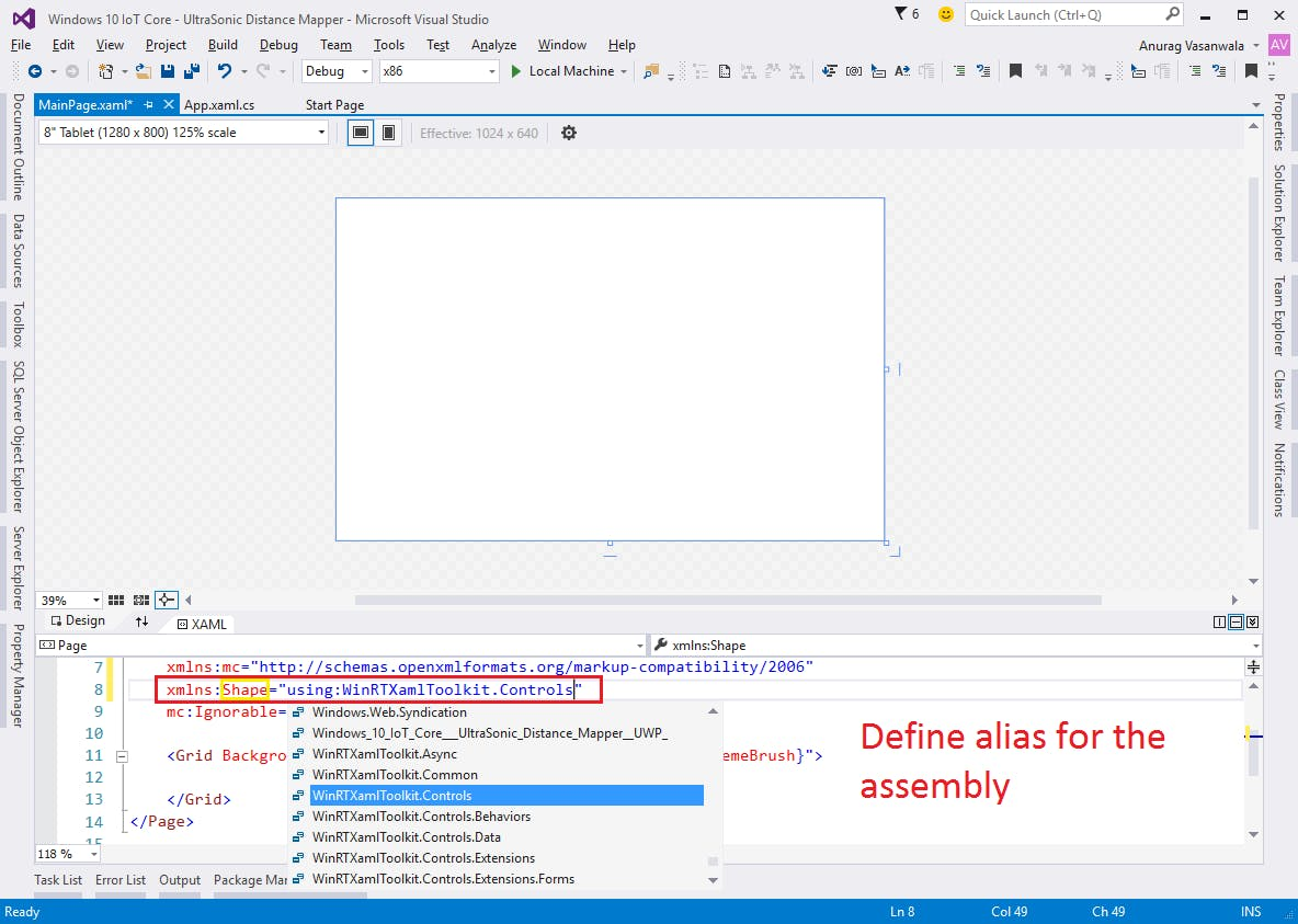 Windows 10 IoT Core: UltraSonic Distance Mapper - Hackster io
