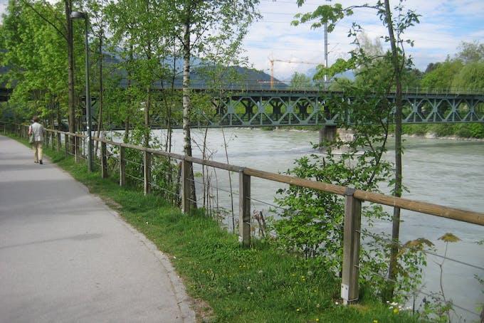 The bridge from far away