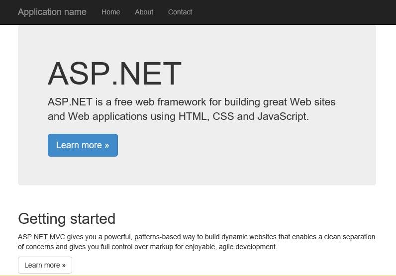 launch azure web app by default browser