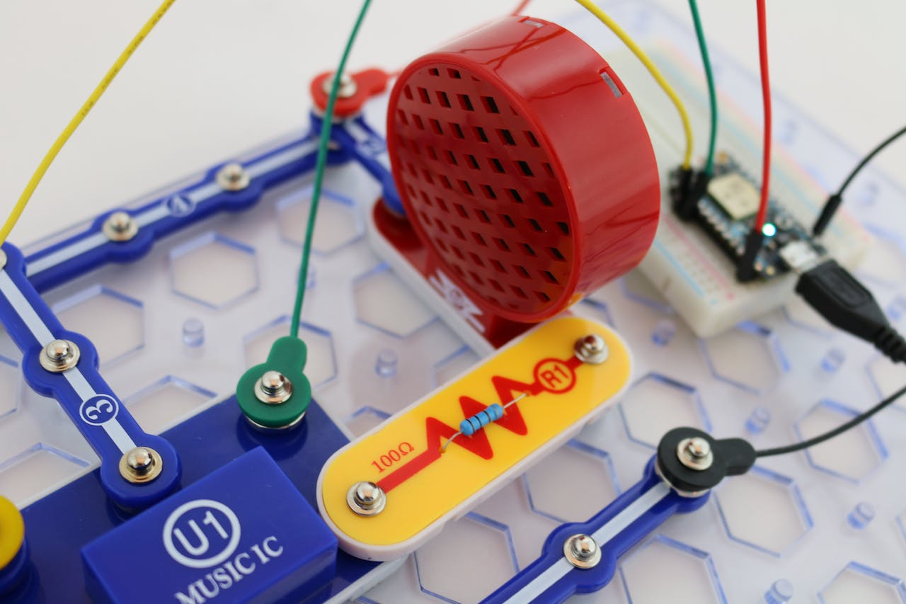 Snap Circuits Internet Music Electronic For Kids Free Electronics Circuit