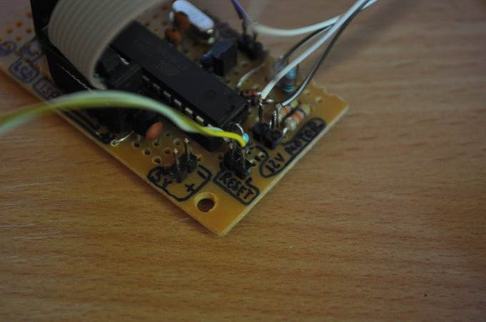 Coil Winding machine counter with Atmega8 and Reed relay ...