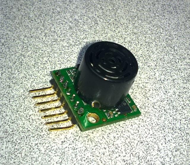 MaxBotix Sonar Sensor with Header Mounted