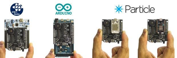 Zerynth Shield and uC boards