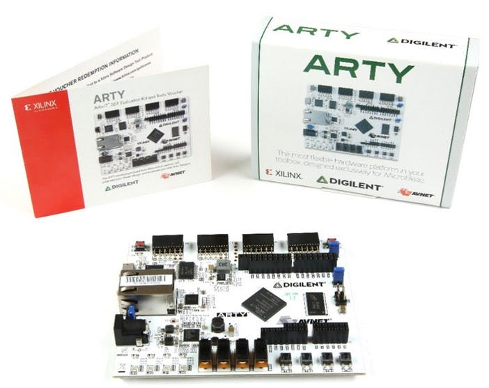 "Artix®-7 35T ""Arty"" FPGA Evaluation Kit"