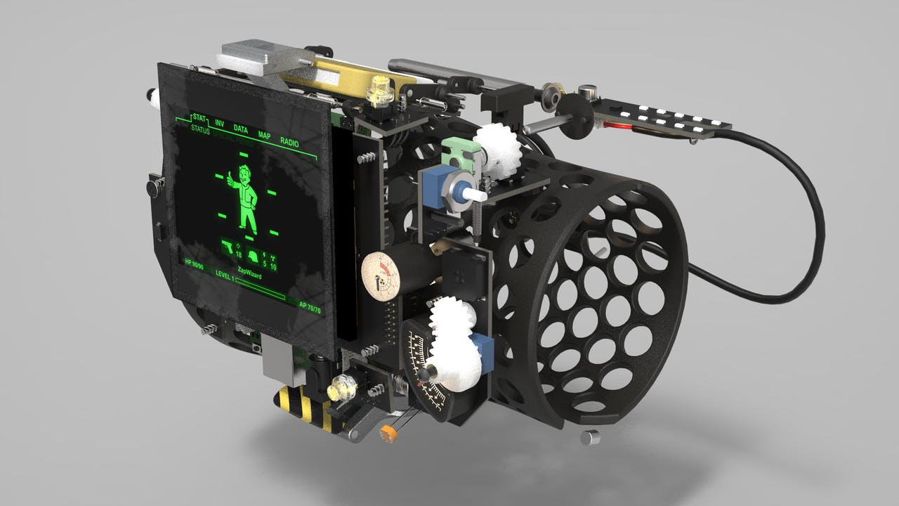 Functional Pip-boy 3000 Mk4 from Fallout 4 - Hackster io