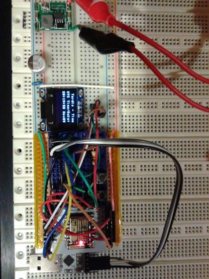 ESP8266-12 on breakout board