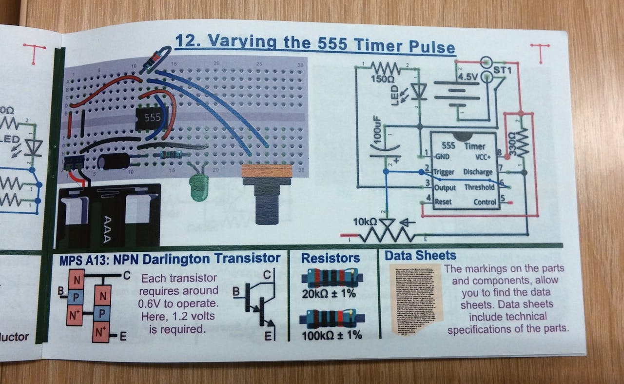 555 Timer Chip Explorations Here Is My Main Circuits Stub At Schematics Blog