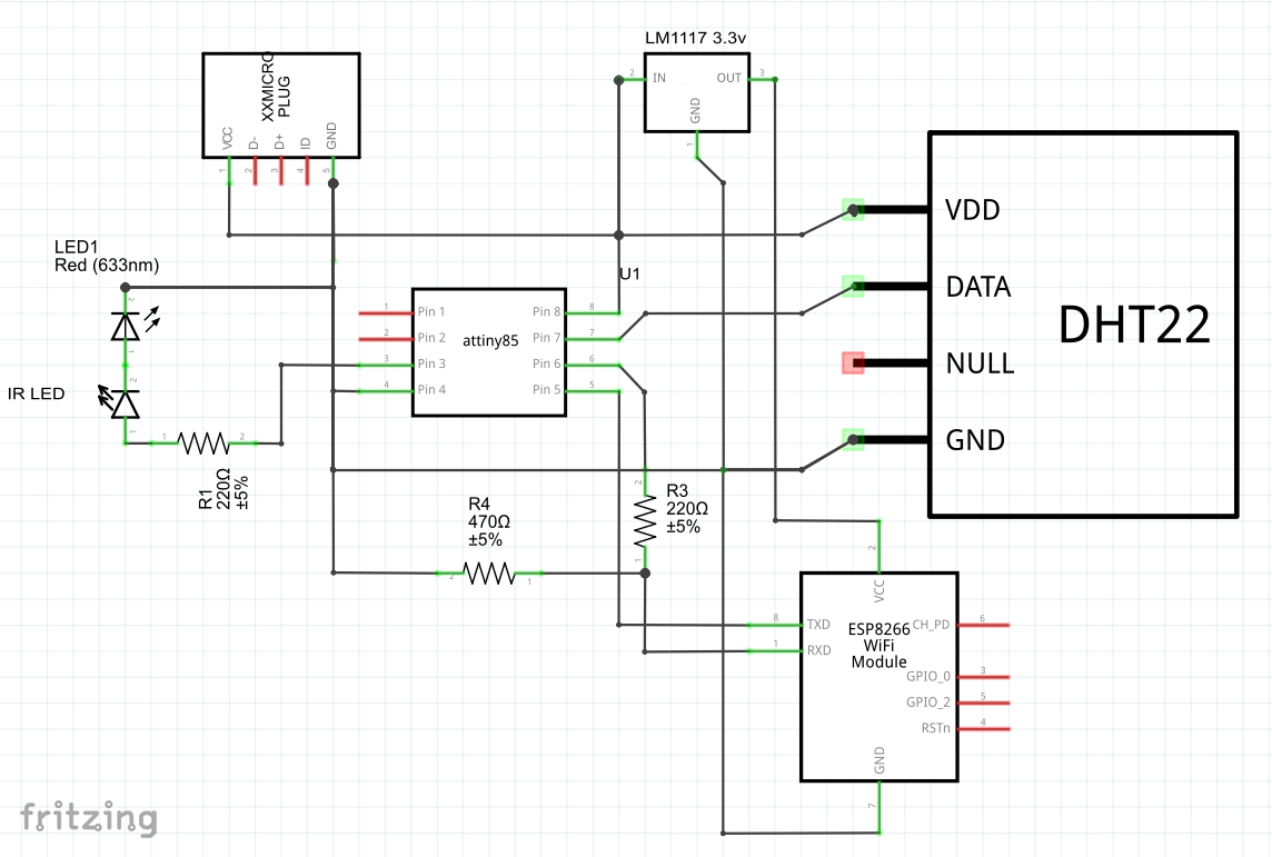 Improved Infrared Receiver With Status Led