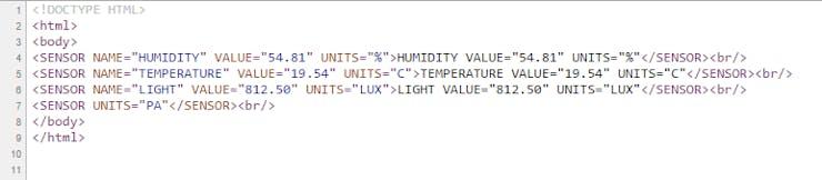 HTML Tag view