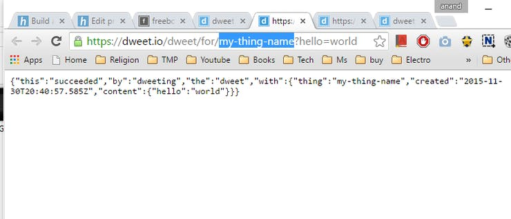 Assign 'world' to 'hello'