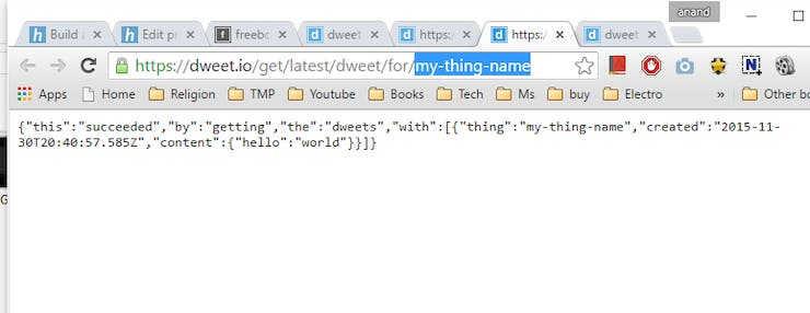 Get variable name and value