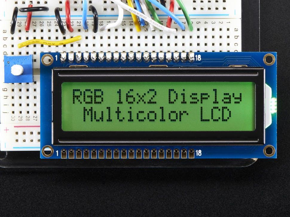 RGB Backlight LCD - 16x2