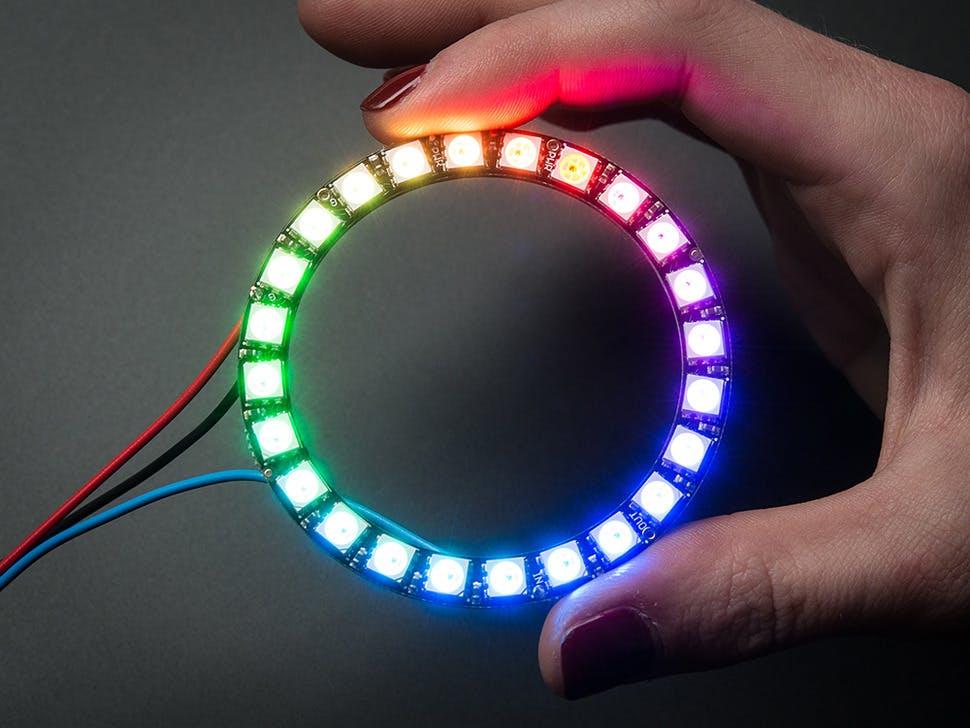 NeoPixel Ring: WS2812 5050 RGB LED