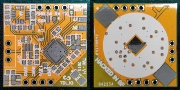 2nd PCB version