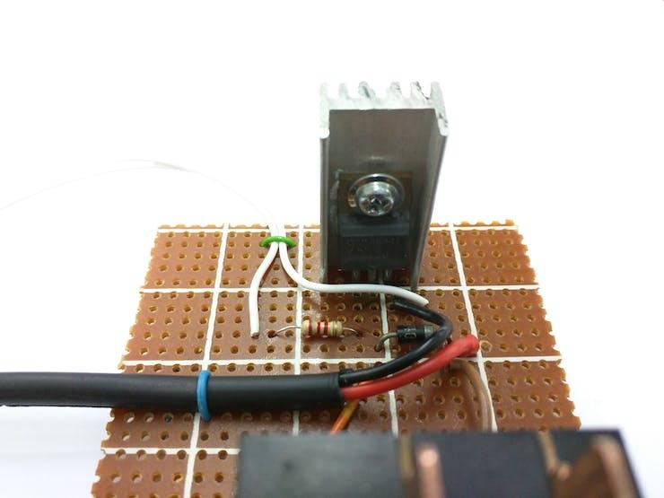 Transistor switching circuit