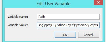 adding python installation directory to PATH